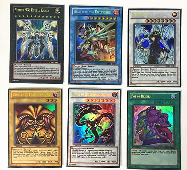 45/90 Pcs Game Ygo Yugioh Playing Card Cartoon Cards Yugioh Gaming Card Japan Boy Girls Yu-gi-oh Cards Collection Toys Gift Toys & Hobbies