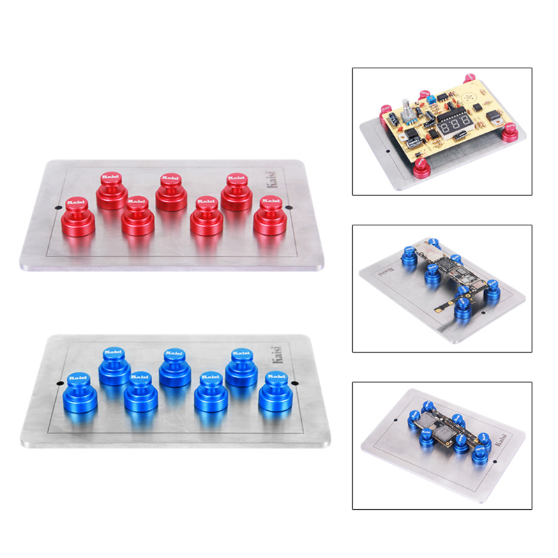 Magnetic Universal Holder Fixture Clamping For Phone PCB Motherboard  Circuit Board Chip Position Repair Tools Color Random