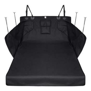 Nowa mata bagażnika samochodowego hamak Boot osłona siedzenia dla zwierzęcia bariera Protect Floor antypoślizgowa składana wodoodporna odporna na zabrudzenia tylne siedzenie tanie i dobre opinie Audew Cztery pory roku 3 6cm 17 5cm Pokrowce i podpory 950g Wodoodporne 10 5cm Modern Black 600D Oxford cloth 600D Oxford Cloth + PP cotton + Oxford Cloth