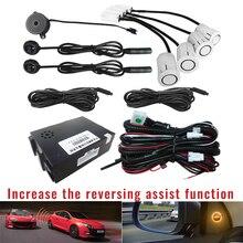 BSM Car Blind Spot Monitoring System 12V Radar Detection Ultrasonic Sensor Assistant with Reversing assist function