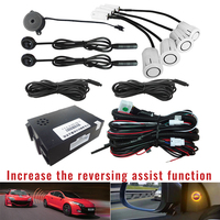 BSM Car Blind Spot Monitoring System 12V Radar Detection System Ultrasonic Sensor Assistant with Reversing assist function