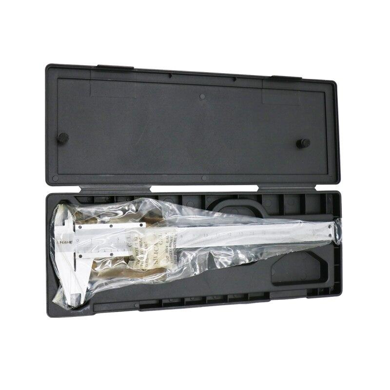 0 200mm Schuifmaat Heerser Meten Rvs Micrometer Hoge Nauwkeurigheid in Calipers from Tools