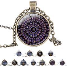 Notre Dame De Paris красивое ожерелье с подвеской Нотр-Дам де ожерелье из Парижа кулон Цепочки и ожерелья с бесплатным цепи кулон