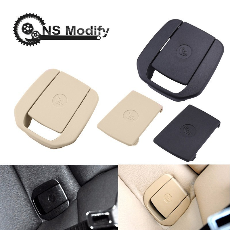 NS Modify 1Pcs Car Rear Seat Hook ISOFIX Cover Child Restraint For BMW X1 E84 3 Series E90/F35 1 Series E87 Car Accessories