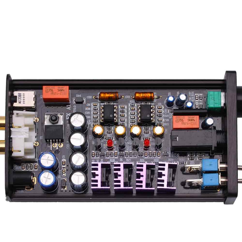 FX-аудио PH-A1 HiFi портативный мини аудио дома усилитель TPA122 цифровой аудио декодер 150 МВт + 150 МВт 16-4 DC12V