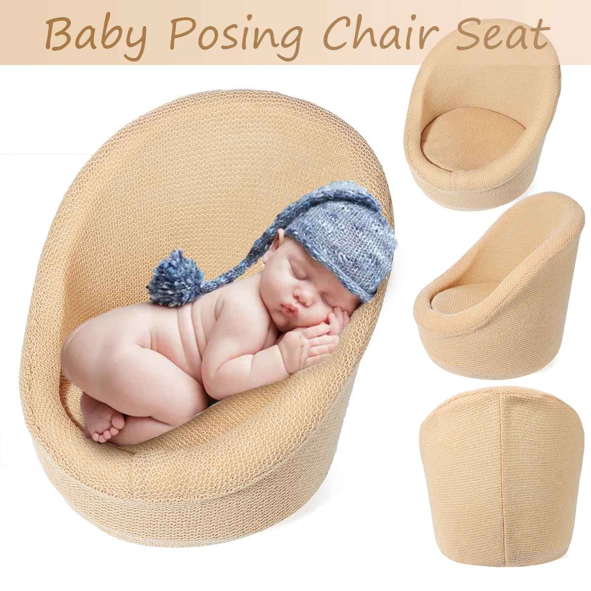 Baby Posing Chair Seat Photography Props Baby Sofa Infant Studio Shooing Kids Photo Accessories Small Sofa Children's Newborn