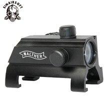 Лидер продаж WALTHER G3 MP5 красный и зеленый точка зрения винтовка 20 мм крепление диапазон страйкбол принадлежности для охоты