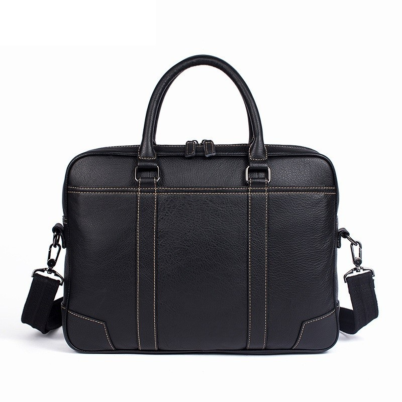 Mens Briefcase Bags For 14 Laptop Man Business Bag Cow Leather Handbags High Quality Leather Office Shoulder Bags ToteMens Briefcase Bags For 14 Laptop Man Business Bag Cow Leather Handbags High Quality Leather Office Shoulder Bags Tote