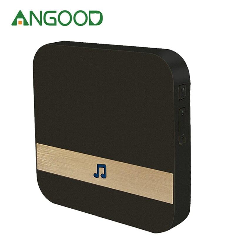 Security & Protection Doorbell Angood 433mhz Wireless Wifi Smart Video Doorbell Chime Music Receiver Home Security Indoor Intercom Door Bell Receiver 10-110db