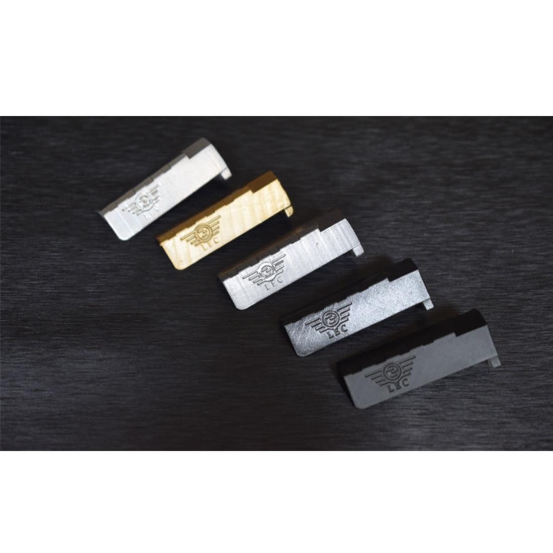 Kit de manchon coulissant en résine de polissage haute résistance pour SKD Glock G18-manchon coulissant en fer noir + fenêtre en métal Gel argenté - 5