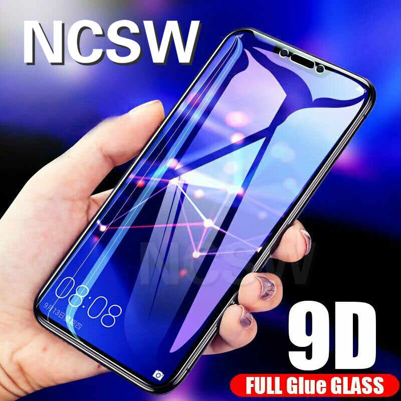 9D Tempered Glass for Huawei Nova 3 3i Honor 8A 10 Play 8X Mate 20 P30 Lite P Smart 2019 Y6 2019 Full Screen Protector Glass