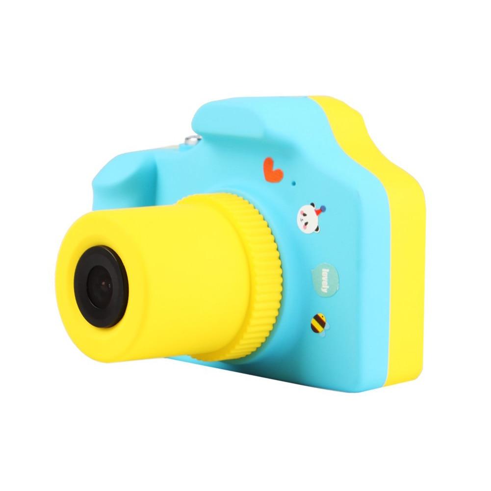 1.5 pouces 2MP 1080 P mini caméra numérique LSR cam adapté aux enfants bébé mignon dessin animé multi-fonction jouet caméra avec 8G memor