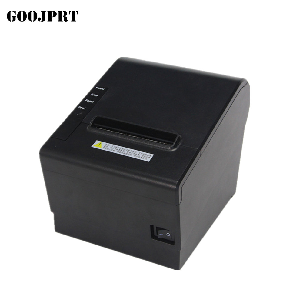 High Quality 80mm Thermal Receipt Bill Printers Kitchen Restaurant POS Printer With Automatic Cutter Function Stylish Appearance