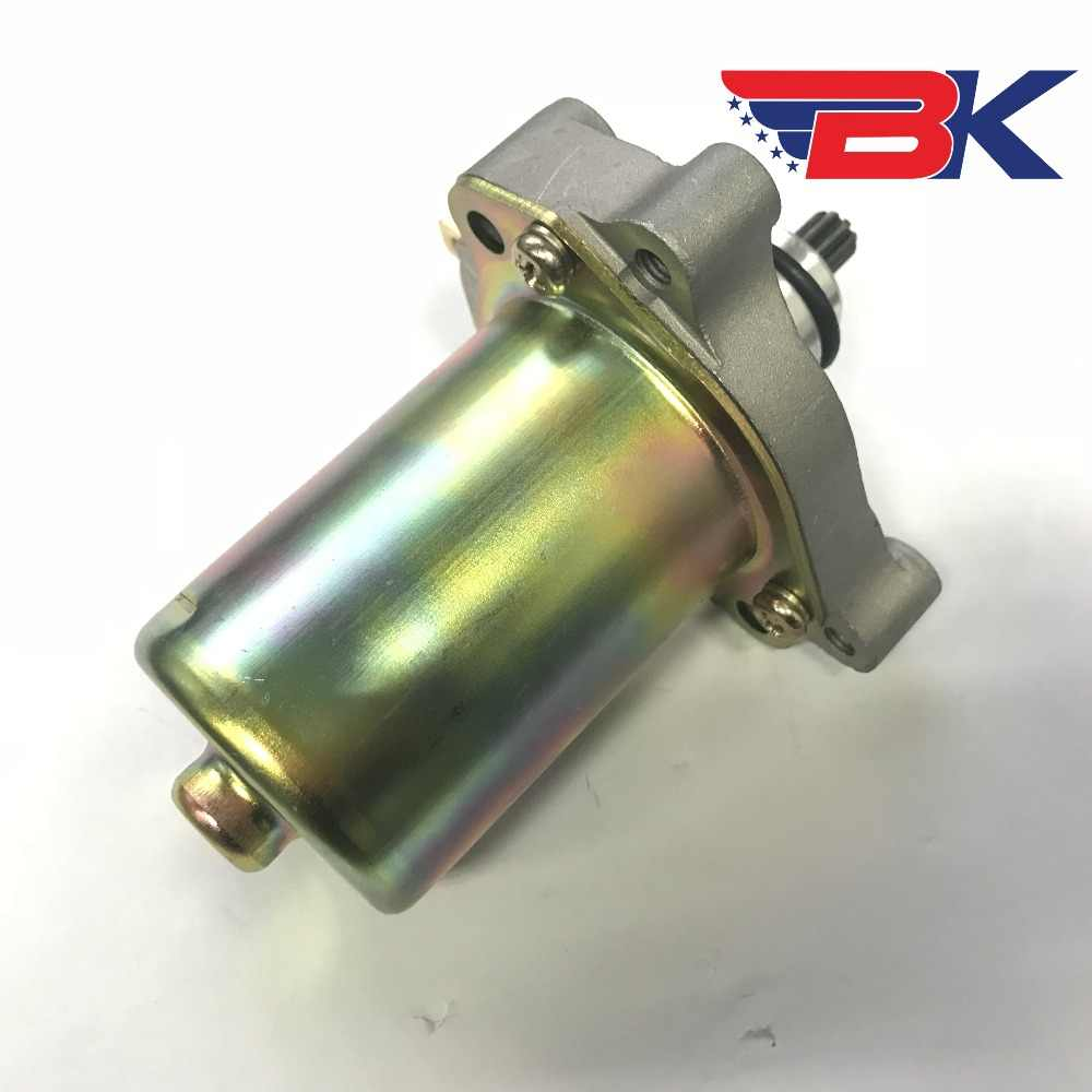 9T Starter Motor For Piaggio 125cc 150cc Scooter Motorcycle Starting Motor  Parts