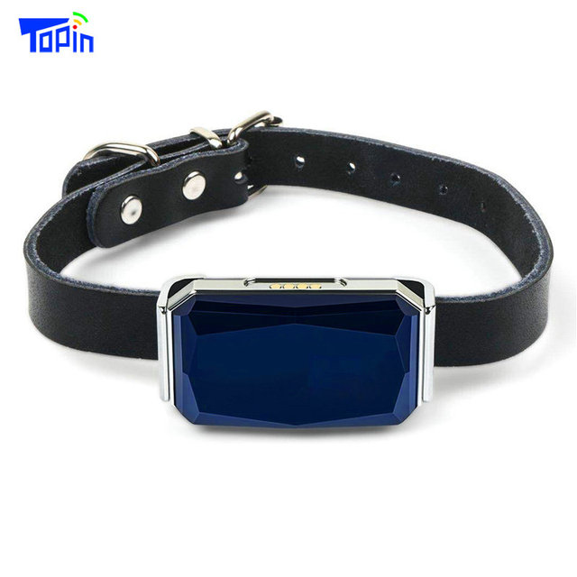 New Arrival IP67 Waterproof Pet Collar GSM AGPS Wifi LBS Mini Light GPS Tracker for Pets Dogs Cats Cattle Sheep Tracking Locator 1