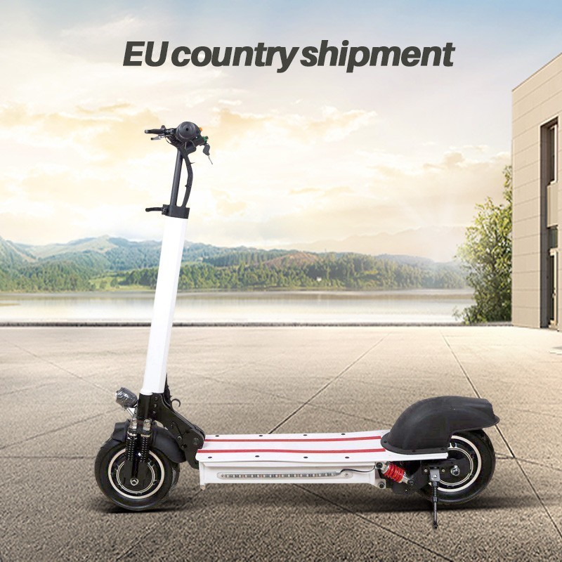 10 inch Off Road Electric Scooter Adult bike 48V new Double motor Style powerful Foldable e