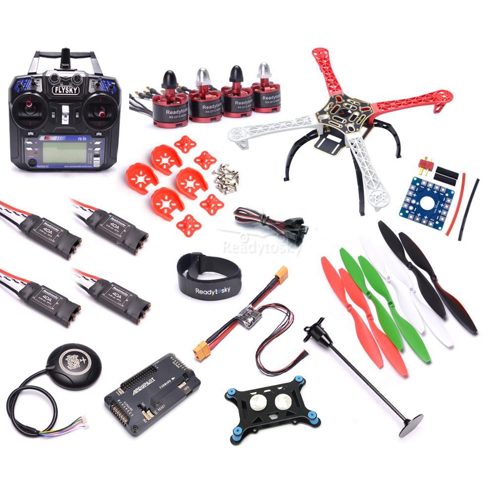 F450 450 milímetros Multi-Helicóptero Quadro 2212 920KV Motor Brushless APM2.8 8N Flight Control GPS apoio 4S 40a ESC bateria Super combo