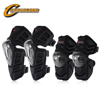 Carbon Fiber Elbow Knee Protector Motorcycle Cycling Protective Gear Elbow Knee Pads Motocross Cycling Guard Gear CG-K09H09