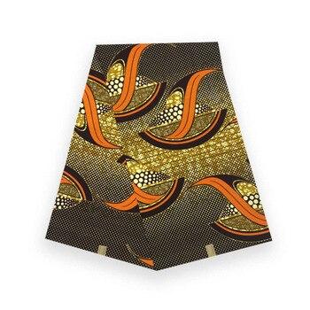 high quality african wax prints fabric 100% cotton wax in fabric flower prints dutch 100% cotton V-L 028