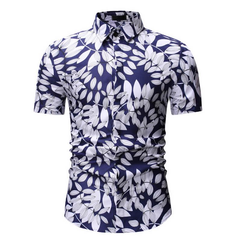 Babykleidung Jungen Mutter & Kinder Herren Sommer Strand Hawaiian Shirt 2018 Marke Kurzarm Plus Größe Floral Shirts Männer Casual Urlaub Urlaub Kleidung Camisas Supplement Die Vitalenergie Und NäHren Yin