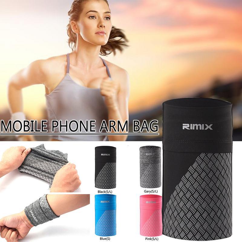 1e579d71a03 Muñeca brazo elástico teléfono móvil brazalete deportivo Fitness corriendo  bolsa