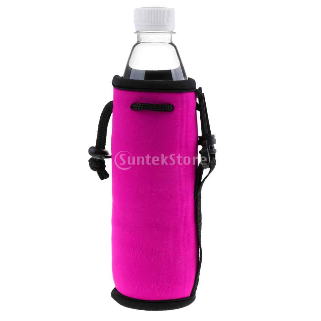 Neoprene Glass Water Bottle Sleeve Insulated Holder Bicycle Water Bag