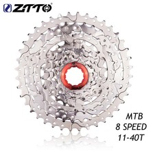 ZTTO 8-Speed Freewheel Cassette Sprocket 11-40T for Shimano Mountain Bike Parts High Quality