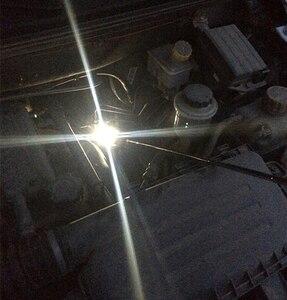 Image 5 - LED Illuminato Specchio Ispezione Del Veicolo Flessibile Telescopica Regolabile Specchi Girevole Da 360 Gradi di Estendere Strumenti di Auto A Mano
