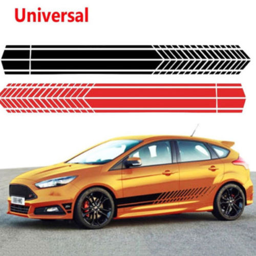 Back To Search Resultshome & Garden Wall Stickers Brand New Sports Racing Striped Graphic Stickers Truck Auto Car Body Side Door Vinyl Decals Car Decorations Terrific Value