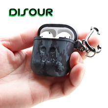 DISOUR Soft Silicone Case For Apple Airpods Shockproof Earphone Protective Cover For iphone Accessories Air Pods Protector Case