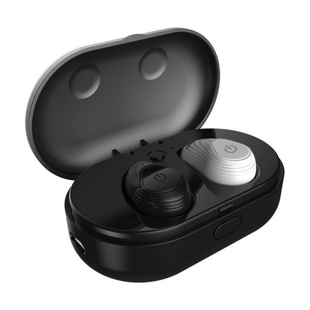Беспроводные наушники мини водонепроницаемые спортивные Bluetooth портативные наушники стерео HIFI бинауральные наушники вкладыши с микрофоном громкой связи