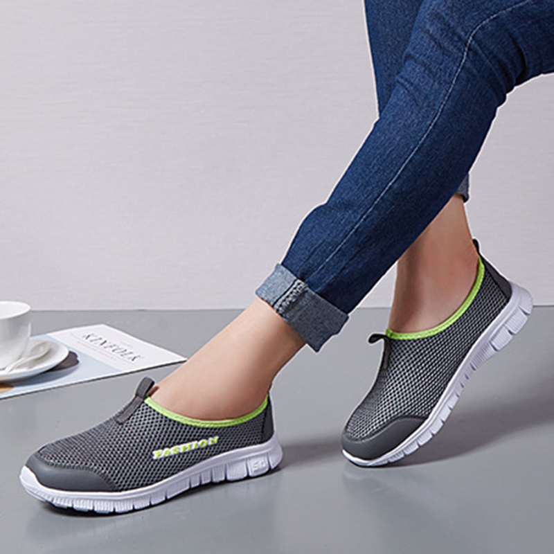 UPUPER Summer Breathable Mesh Womens Shoes Cheap Comfortable Casual Ladies Shoes Woman Outdoor Sport Women Sneakers For WalkingUPUPER Summer Breathable Mesh Womens Shoes Cheap Comfortable Casual Ladies Shoes Woman Outdoor Sport Women Sneakers For Walking