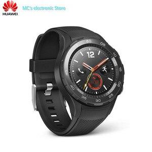 Image 2 - Oryginalny międzynarodowy Rom zegarek huawei 2 inteligentny zegarek obsługuje LTE 4G telefon do android ios z IP68 wodoodporna NFC GPS