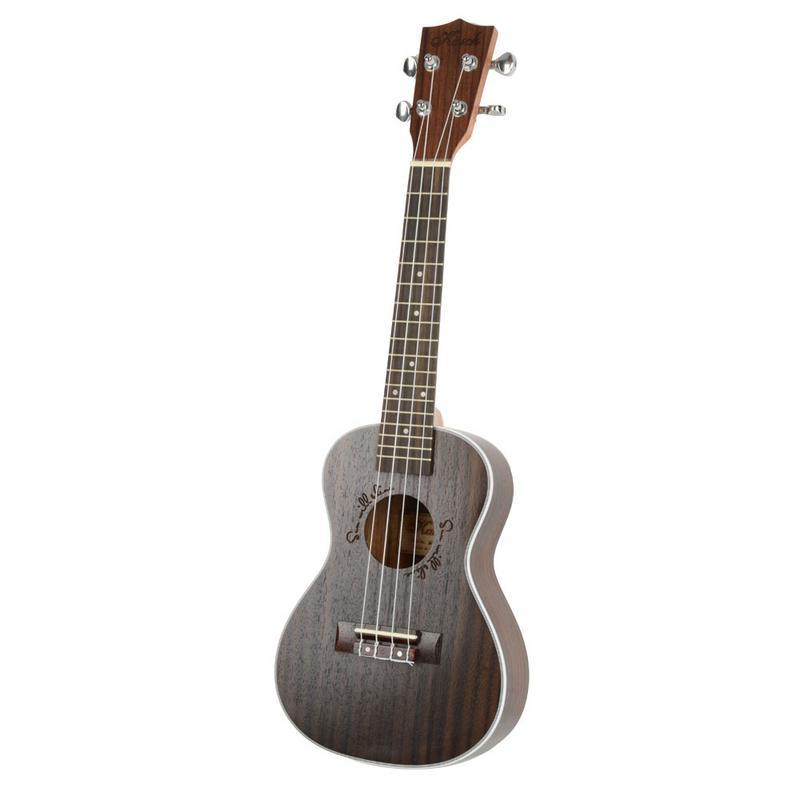 Ukulélé professionnel de Concert de palissandre de 23 pouces 4 cordes Mini guitare hawaïenne Ukelele Guitarra Instrument à cordes Musical