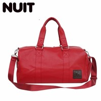 Woman Travelling Bags Pu Leather Male Travel Handbag Large Capacity Female Waterproof Bag Travelling Bags Leisure Time