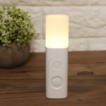 Human Body Induction Smart Sensor Night Lamp Portable Bedside Light Rechargeable