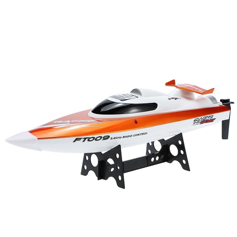 FT009 2.4G 4CH système de refroidissement par eau auto-redressement 30 km/h haute vitesse 360 degrés Flips course bateau RC