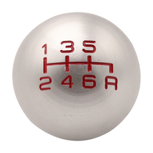 6 Speed Manual Shift Shifter Knob Car Handle Gear Head Stick Lever Automatic Fit for Honda