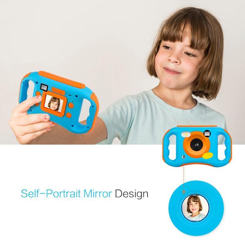 1.77 pouces Mini WiFi 5MP 720 P caméra numérique Portable enfant en bas âge caméra jouets photographie cadeau d'anniversaire Cool enfants caméra pour enfant