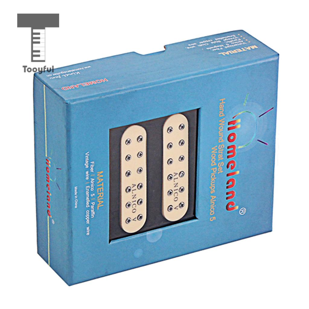 1 Set Alnico V Humbucker Pickup M/N/B for Strat ST Electric Guitar Replacement Parts-in Guitar Parts & Accessories from Sports & Entertainment    1