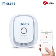 Wireless Zigbee smart natural gas,coal gas,LPG combustible gas leakage sensor detector(China)