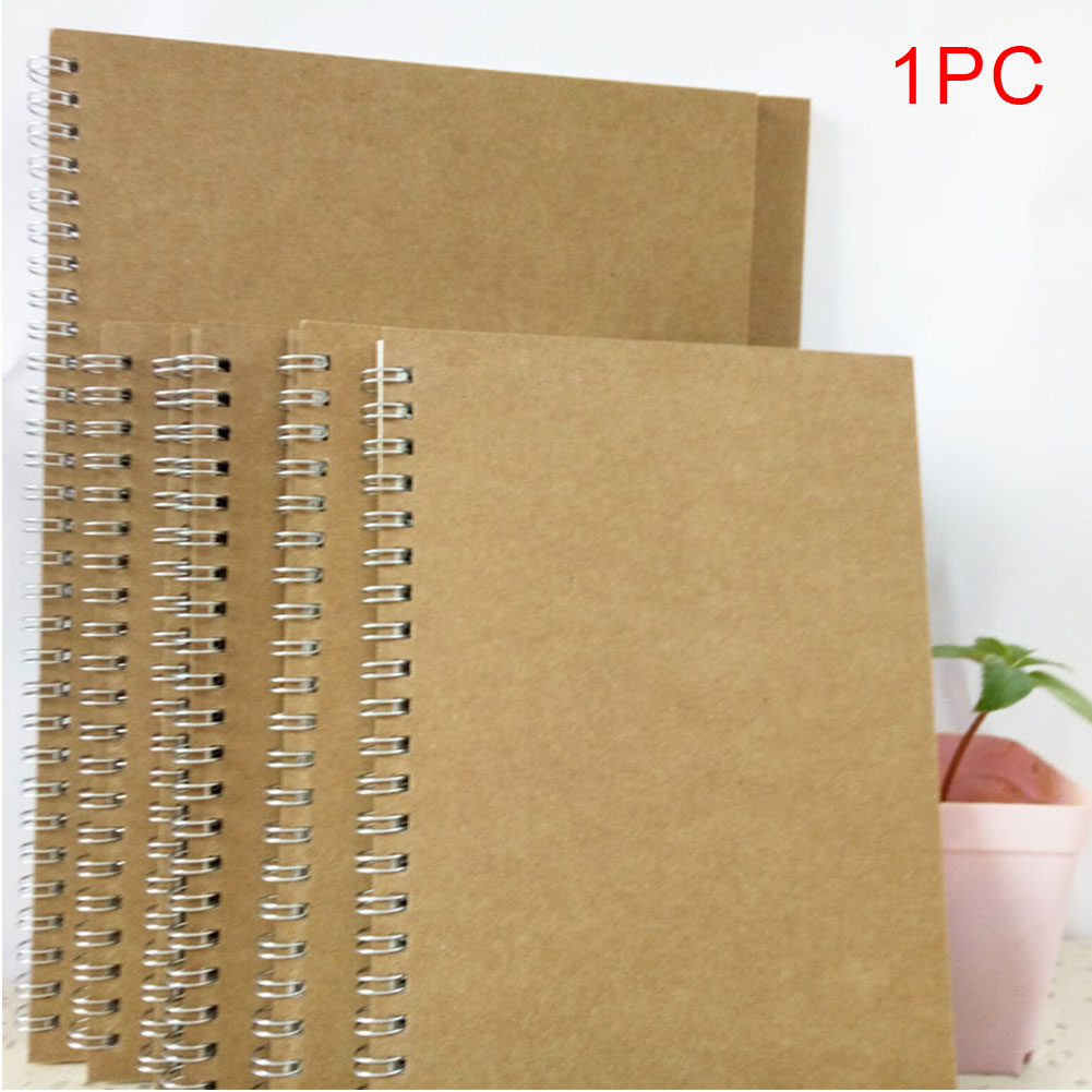 A5 Notebook Schedule Book Coil Binding School Office Planning Journal Dot Grid Stationery Hardcover Eye Protect 5