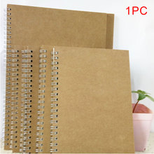 цена A5 Notebook Schedule Book Coil Binding School Office Planning Journal Dot Grid Stationery Hardcover Eye-protect #5