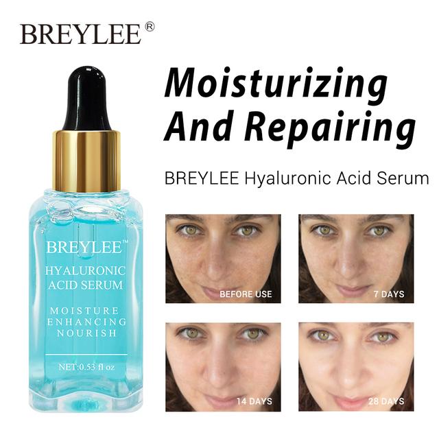 BREYLEE Serum Face Facial Series Hyaluronic Acid Collagen Vitamin C Whitening Lifting Firming Anti-aging Wrinkle Skin Care 6pcs