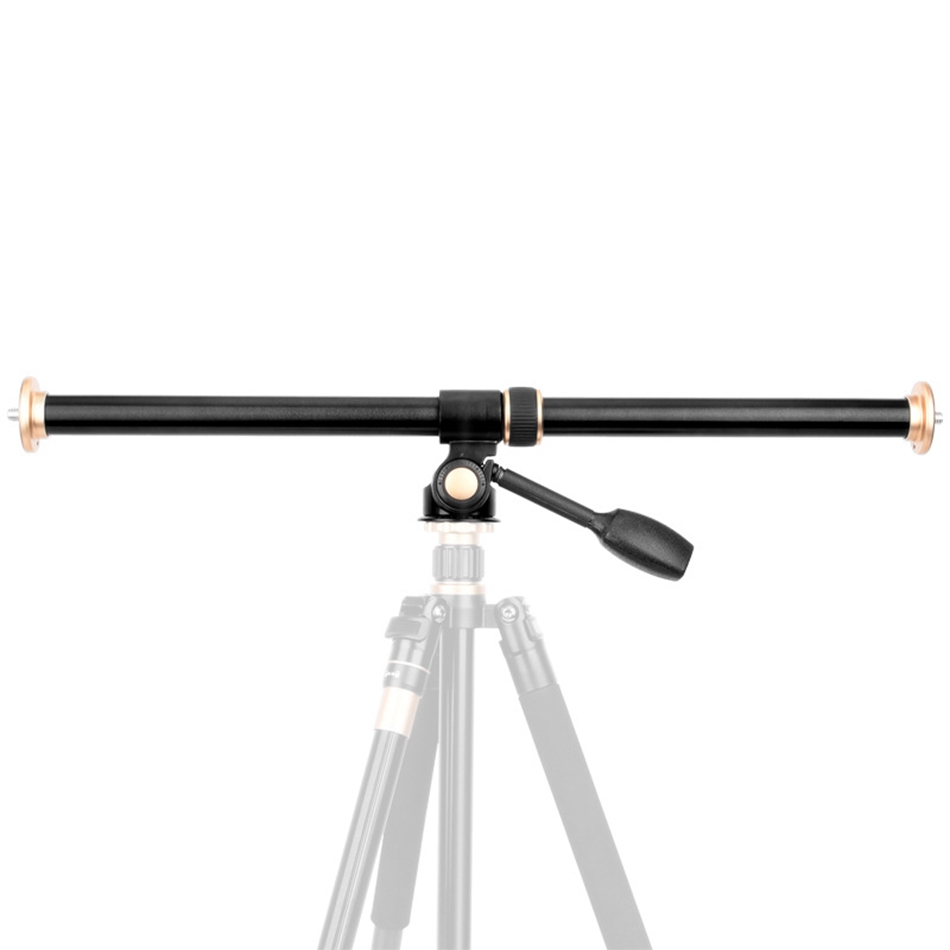 Barra de brazo de entensión de trípode Bakeey aleación de aluminio Horizontal para cabeza de trípode con adaptador de montaje ajustable de ángulo de tornillo 3/8-in monopié trípode from Productos electrónicos    1