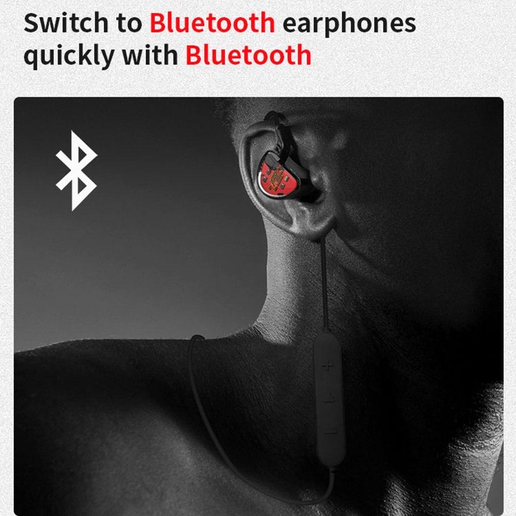 KZ AS10 5BA unidad en el auricular del oído 5 armadura equilibrada desmontable separar 2Pin Cable DJ HIFI Monitor auricular KZ ZS10 KZ BA10 - 3