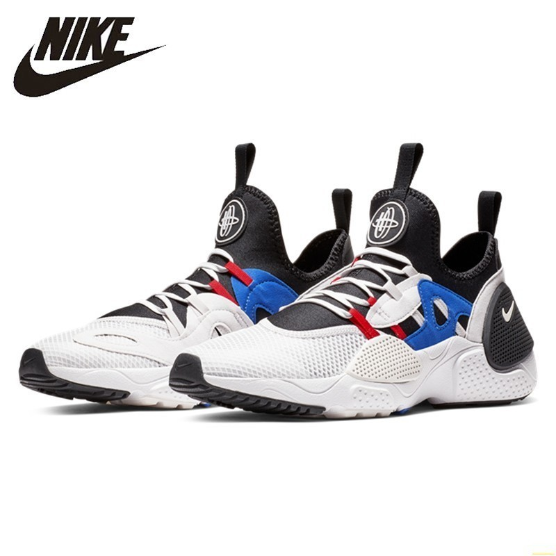 Nike Huarache E.D.G.E. TXT New Arrival Men Running Shoes  Breathable Original Lightweight Outdoor Sports Sneakers #AO1697-001