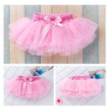 Sweet Girls Tutu Skirts Baby Girls Fluffy Pettiskirts Skirt Princess Girl Ball Gown Skirt Dance Wear Party Clothes 0-2 Years недорого