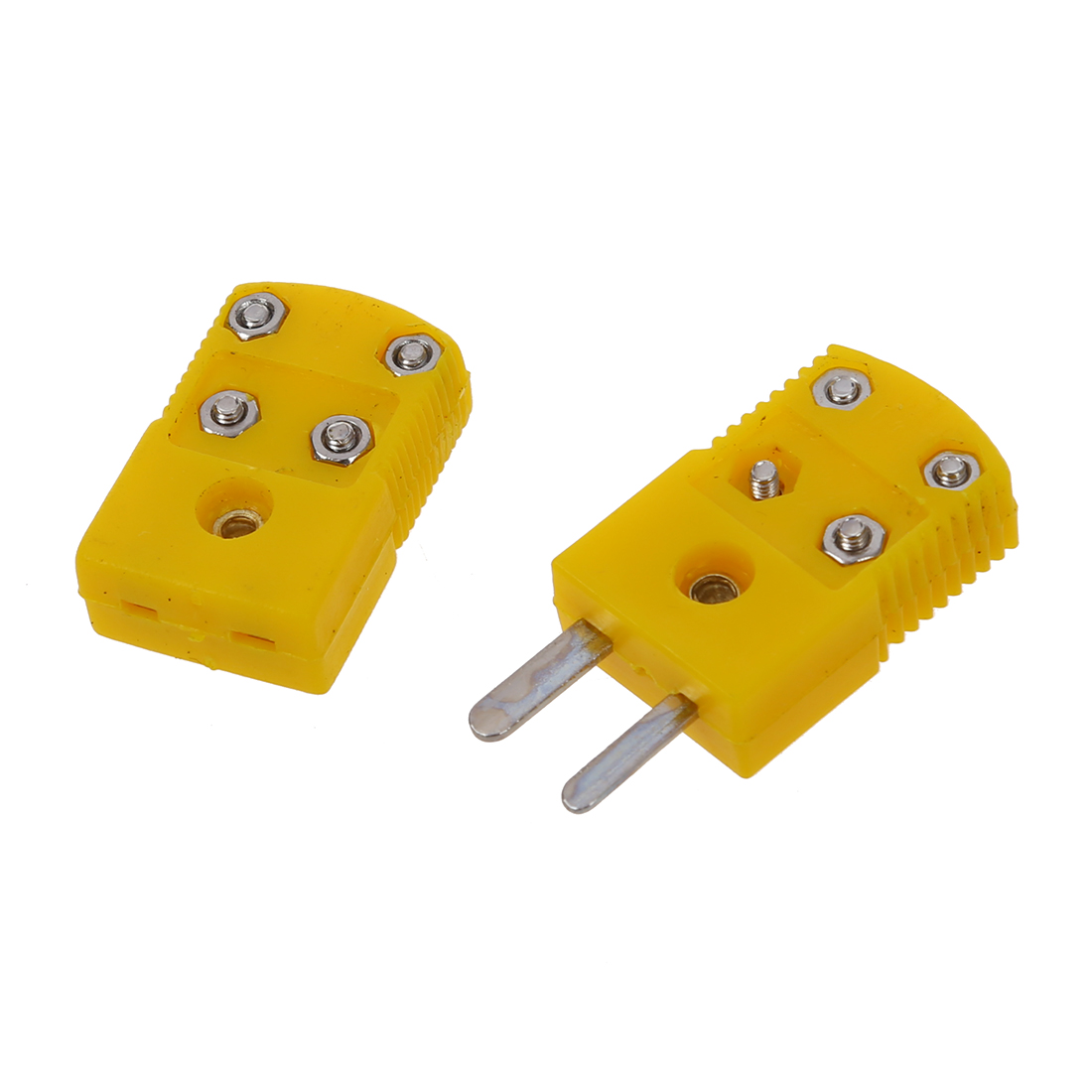 Accessories & Parts Ffyy-yellow Plastic Shell K Type Thermocouple Plug Socket Connector Set Non-Ironing