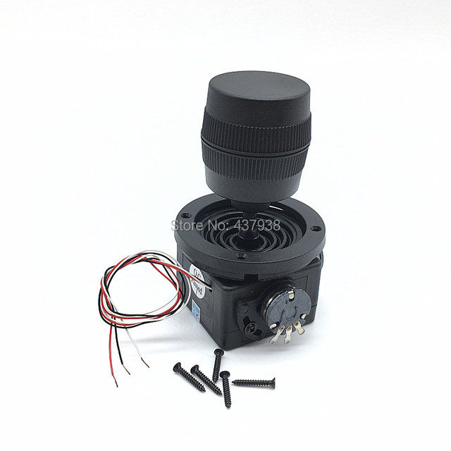 3 軸ジョイスティックポテンショメータ JH D300X R4 10 18k 3D セキュリティ雲台制御ボール機キーボードモニタージョイスティックスイッチ